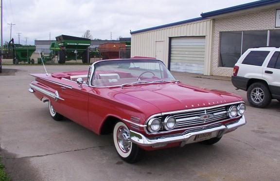 1960 Impala convertible 348 011