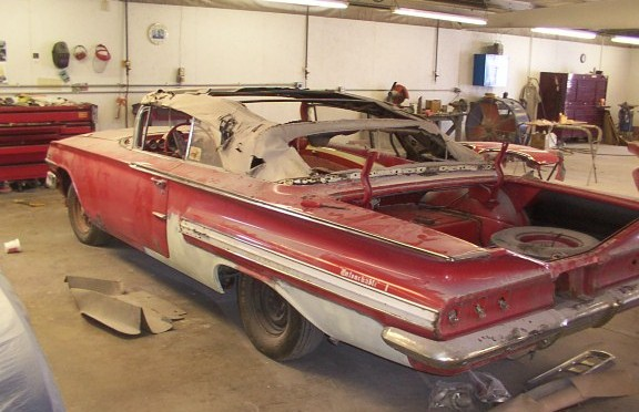 1960 Impala convertible 348 018