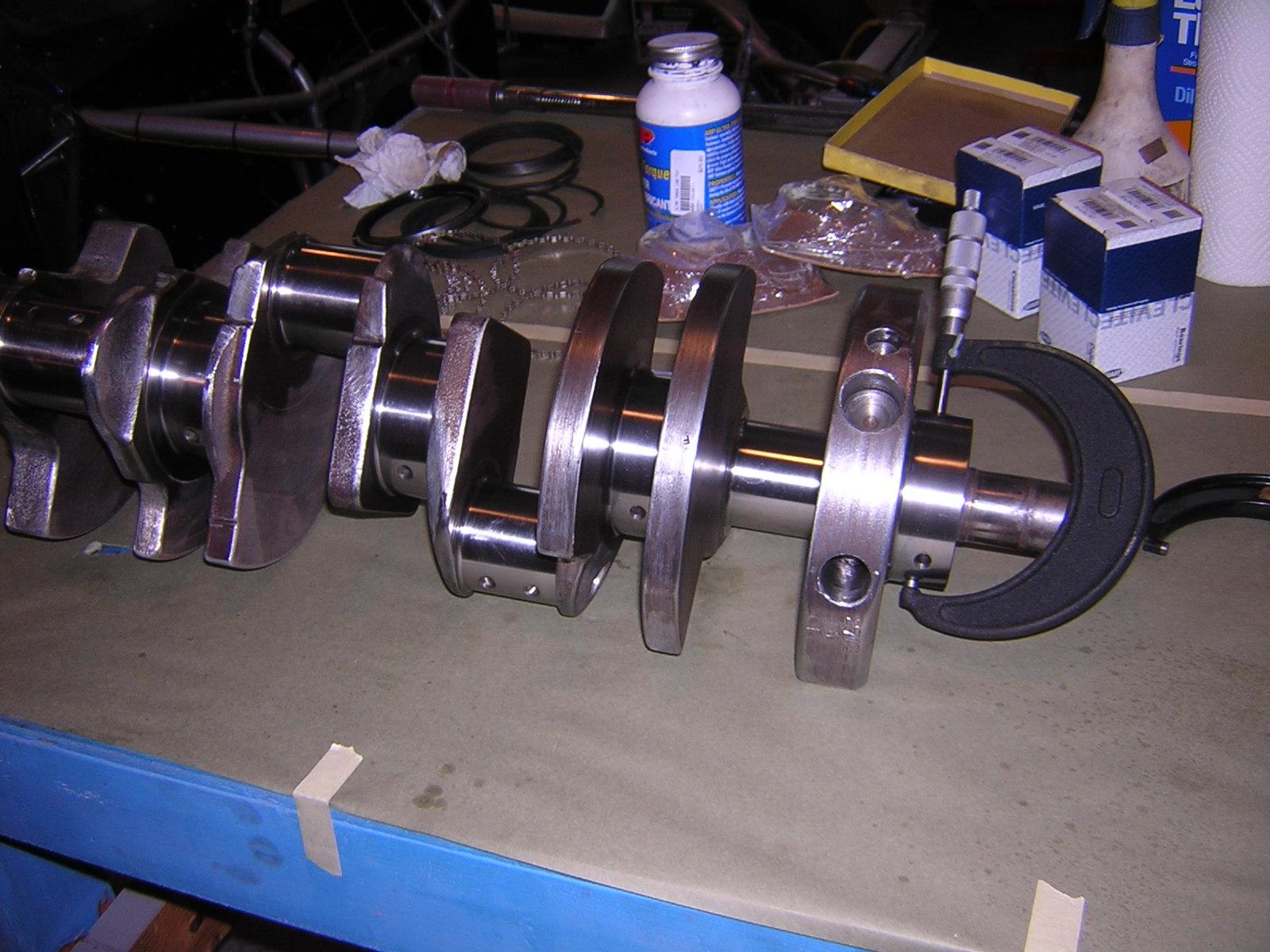 400-455 crate engine crank