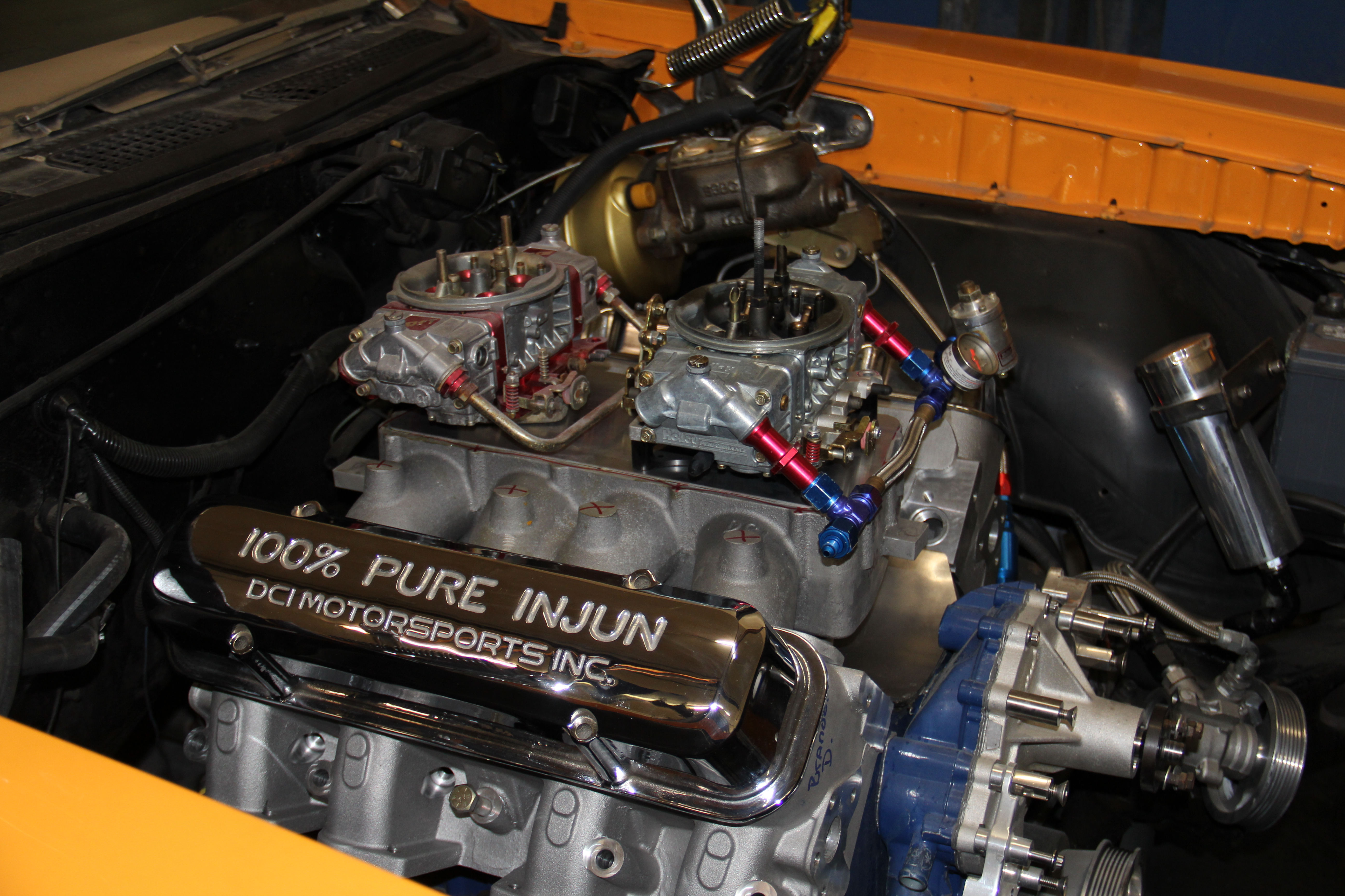 DCI Ram Air Five Crate Engine