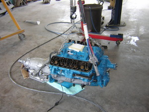 Pontiac 400 W72 engine restoration for 1977 Trans Am